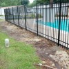 6' aluminum pool fence
