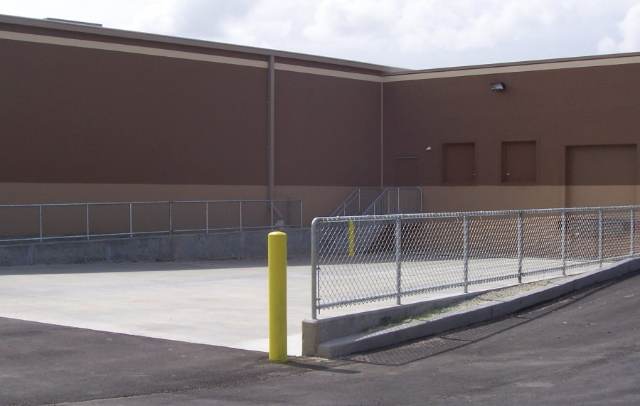 Chain Link Fence at Kohl's Loading Dock