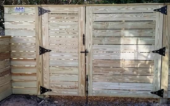 Horizontal Board Fence