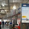 Elevated Fence at Costco