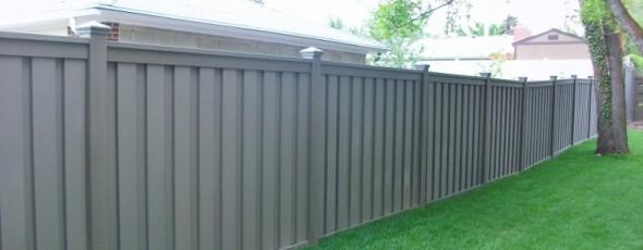 Trex Composite Fencing – Winchester Grey