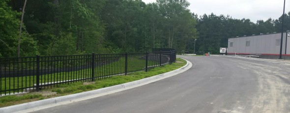 Aluminum Fences in all Different Heights