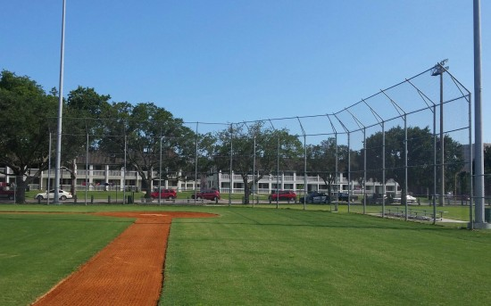 Backstop and Field Fence for Charleston County
