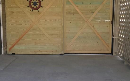 Sliding Pocket Wood Door