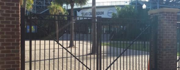 Volvo Tennis Center Aluminum Gate