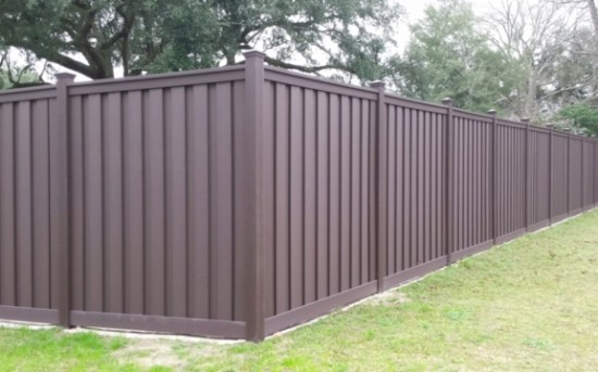 Trex Fence installed by AAA Fence