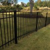 4′ tall Jerith Aluminum Fence in Rivertown