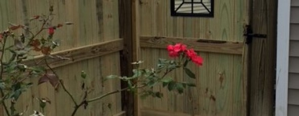 Gate Window – an added touch of class