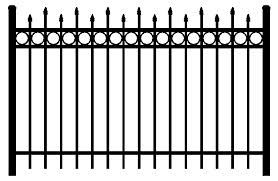 aluminum fence products