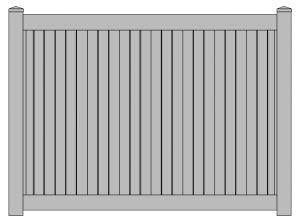 Vinyl Fence products