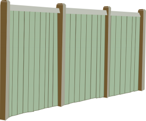 wooden fence products