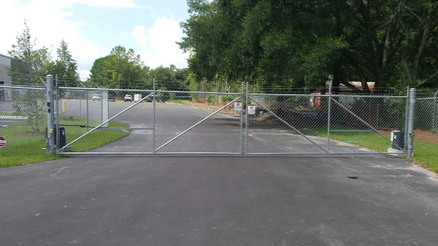 Fogel Services New Front Gate Aaa Fence Charleston