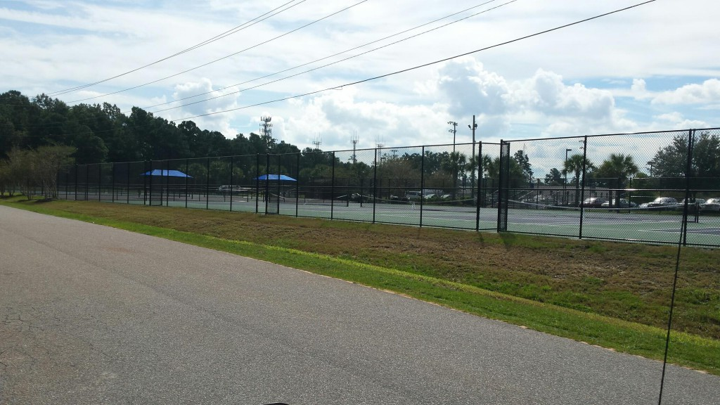 CSU Tennis Courts