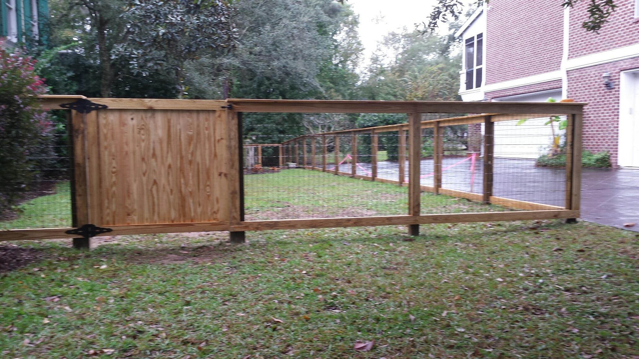 residential fence pictures aaa fence charleston
