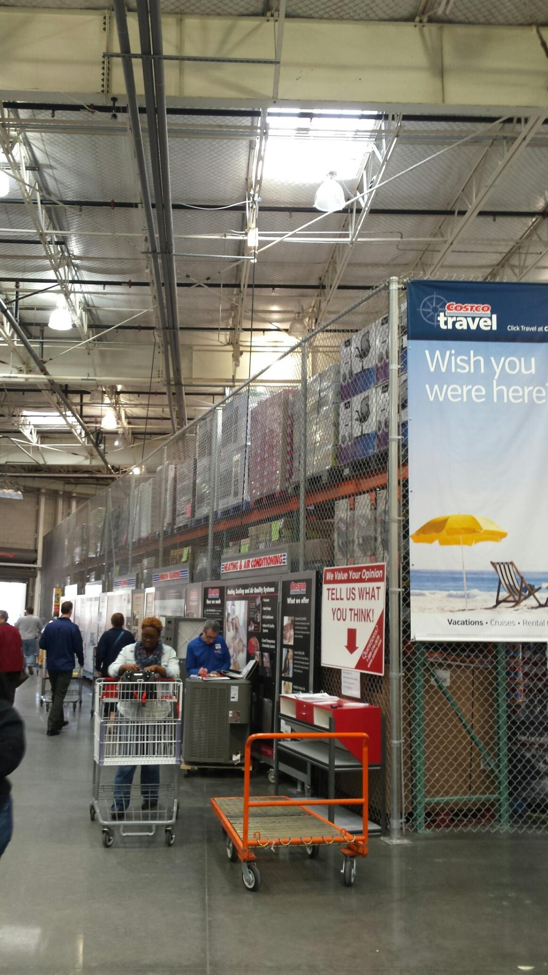 Commercial fencing pictures aaa fence charleston for Costco dog fence