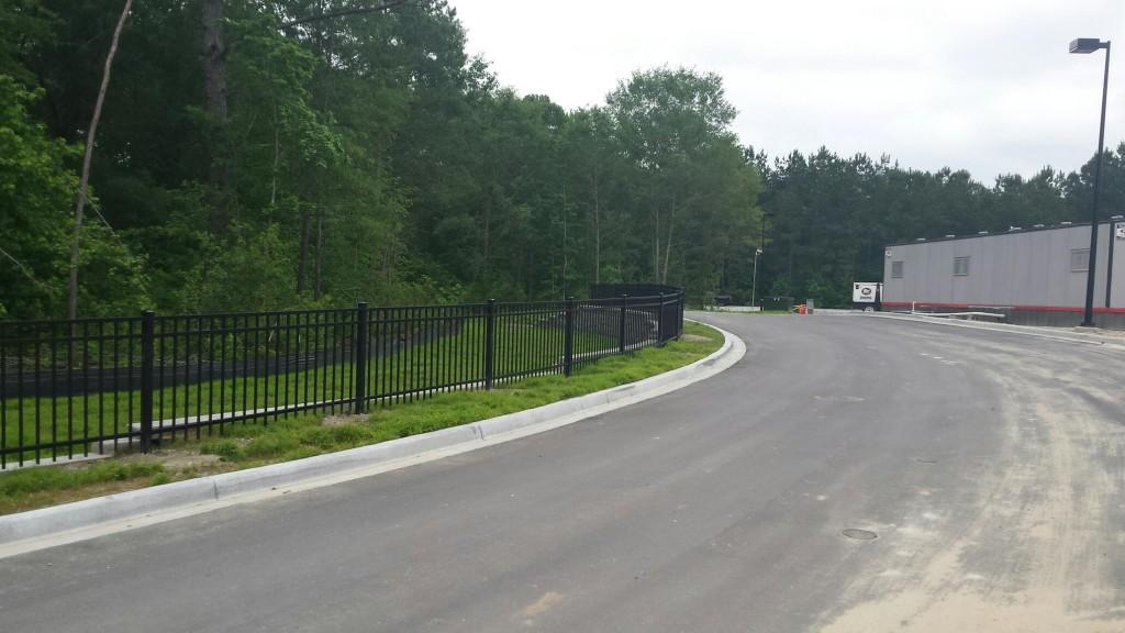 3' aluminum fence