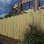 10' tall Commercial Privacy Fence