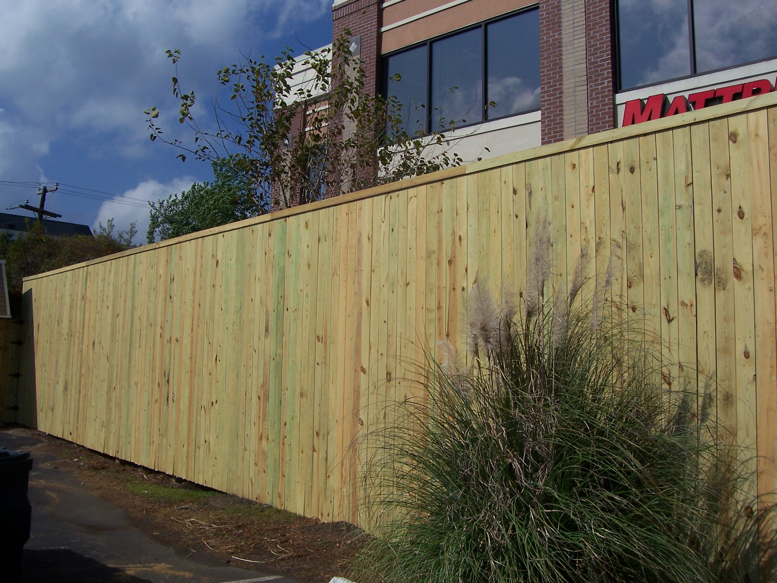 10 Tall Commercial Privacy Fence