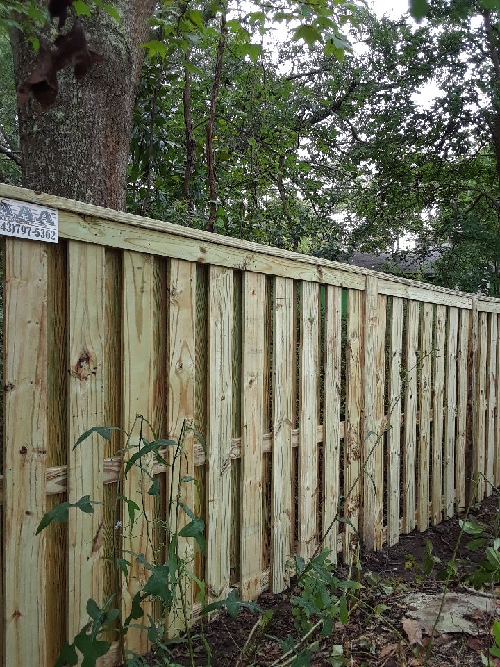 Commercial Fence Pictures Aaa Fence Charleston