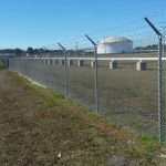 Container Field Commercial Chain Link Fence