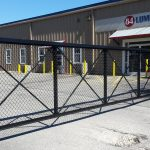 84 Lumber Aluminum Gate and Bollards