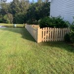 Scalloped Fence...a Little Different Flair